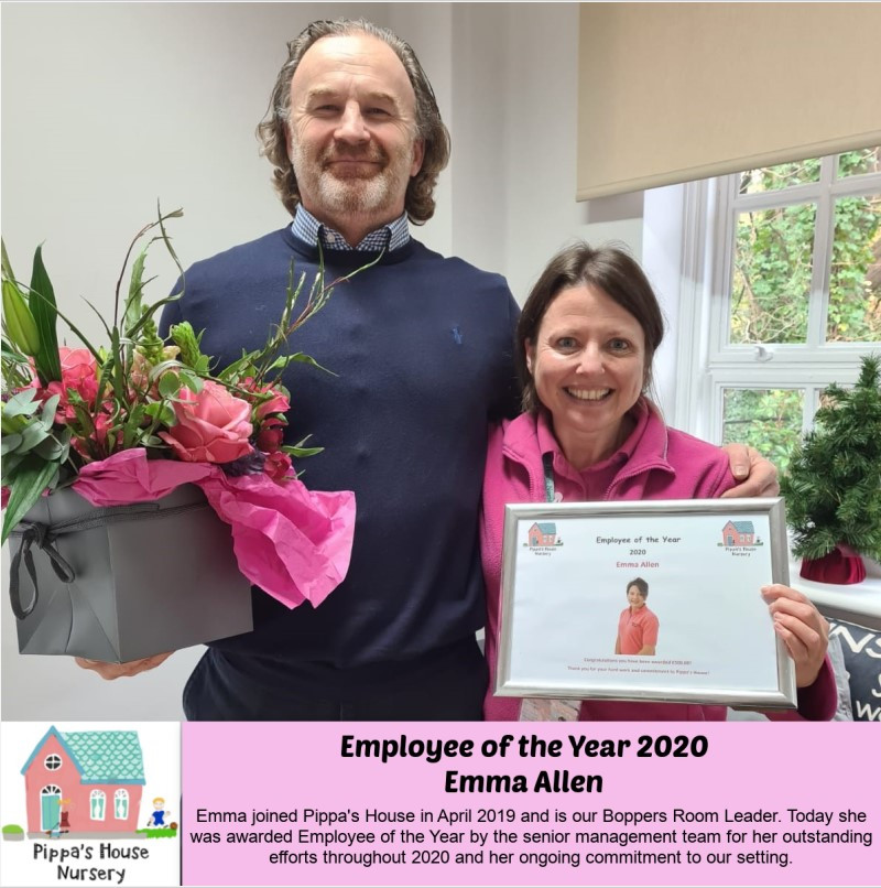 Employee of the Year 2020 - Emma Allen